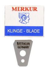 Merkur Solingen Razor Blades for Merkur Mustache Eyebrow Razor Model 136