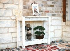 Rustic Entry Table 36''