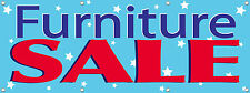 Furniture Sale Sign Banner 3X8 ft Multi Color New 96in x 36in