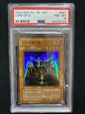 2002 Yugioh Starter Deck Kaiba Lord of D. SDK-041 PSA 8