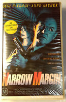 Narrow Margin VHS 1990 Thriller Peter Hyams Original Roadshow Soft Case Release