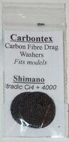 Carbontex Drag Washers & spool bushing Stradic ci4+ 4000 and Drag Grease FREE