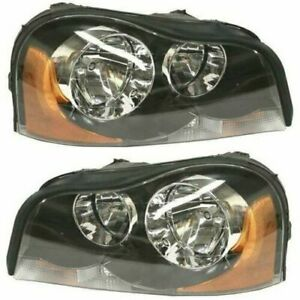 FITS FOR VOLVO XC90 2003 2004 2005 2006 2007 2008 HEADLIGHT HALOGEN RIGHT & LEFT