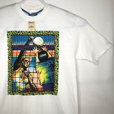 NWT Hanes Beefy T Shirt Mens XL Single Stitch VTG Volleyball 90s Surf Grunge