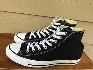 Converse Chuck Taylor 70s Suede High Top Black White Unisex Men's 8.5 Wo's 10.5