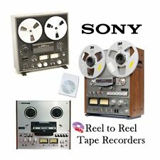 SONY TAPE RECORDER REEL TO REEL MANUALS on CD