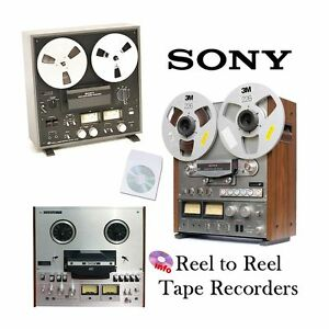Sony tape recorder reel to reel operation instruction service manual cd