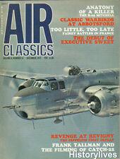 Air Classics Dec.72 B-25 Mitchell Abbotsford Fairey France Revigny Zeppelin LZ39
