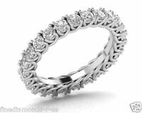 1.00ct Round Brilliant Cut Diamond Full Eternity Ring in 18K White & Yellow Gold