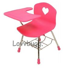Realistic Pink School Desk for American Girl Doll Accessory LOVV LOVVBUGG!