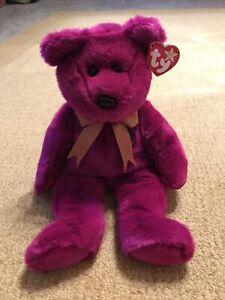 Ty Beanie Babies Millennium Bear Buddy