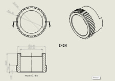 BMW R 850 1100 RT RS R 92-01 Velocímetro Gear
