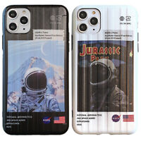 Nasa Astronaut Galaxy Space Phone Cover Case For  iPhone 11 Pro Max XS XR 8 7