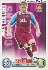 JAMES COLLINS  # WALES WEST HAM UNITED CARD PREMIER LEAGUE 2008 TOPPS