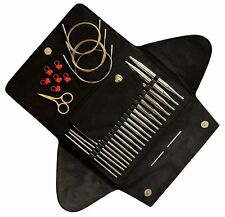 addi Click BASIC GOLD EDITION - Interchangeable Needle Set - Knitting Needles