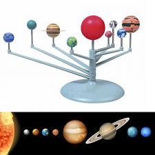 Lernspielzeug Sonnensystem Neun Planet Himmelskörper Modell Wissenschaft  VV11