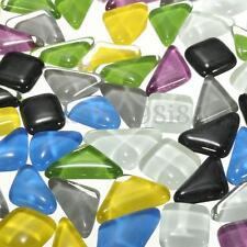 100G Irregular Vitreous Glass Mosaic Tiles for Arts and Crafts - Various Mixes