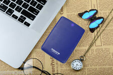 """2.5"""" 500G External Hard Drive Blue USB 3.0/2.0 For Laptop/Xbox one /PS4 -1701BL"""