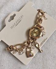 🌹New Makarlon Fashion Jewelry Adjustable Link Bracelet Watch Gold Beautiful!