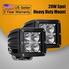2X 20W Led Spot Light Driving Headlight Spot Driving lamp Off Road ATV UTV