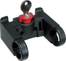 Rixen & Kaul KLICKfix supporto per bicicletta manubrio chiudibile a chiave! 22.2 o 31.8mm