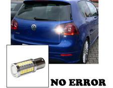 LAMPADA RETROMARCIA NO ERROR RETRO 15 LED CANBUS VW GOLF 5 V 6000K LUCE BIANCA