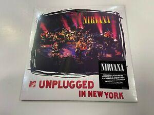 LP NIRVANA UNPLUGGED IN NEW YORK NUOVO SIGILLATO SPEDIZIONE RACCOMANDATA