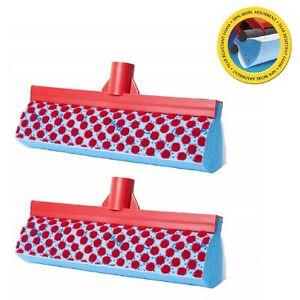 Mop Replacement Head 3 Action Refill Vileda Magic Absorbent Sponge Pack of 2