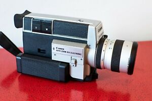 EXC Canon 814 Auto Zoom Electronic Super 8 movie camera FREE SHIPPING WORLDWIDE!