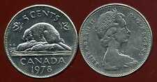 CANADA 5 cents  1978  ( bis )