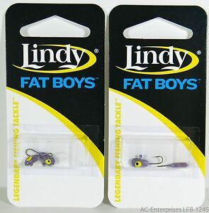 Lindy Fat Boys Ice Jig LFB-1245 Viking 2 Packs