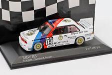 1:43 Minichamps BMW M3 E30 DTM Champion Ravaglia 1989