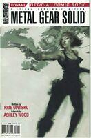 Metal Gear Solid #1 Rare 2nd Print Variant Konami Ashley Wood IDW Comic Book HTF