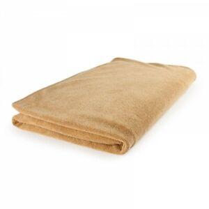 Microfibre Bathsheet Towel - absorbent, compact, quick-dry - Caramel 2 sizes