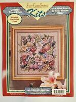 Teresa Wentzler Fruit & Floral Wreath I cross stitch kit Just Cross Stit