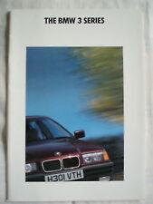 BMW 3 Series range brochure Jan 1991