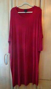 BNWOT Wall London free size lagenlook wine coloured dress (30+)