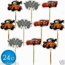 Disney Cars Fun Pix Cupcake Picks 24pcs Cake Toppers Decorations by Wilton