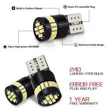 AUXITO T10 LED License Plate Light Bulbs 6000K Bright White 168 2825 194 2PCS