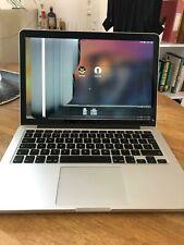 "Apple macbook pro A1502 i5 mid 2014 13.3"" screen(damaged) 2.6 GHz (8GB)128SSD"