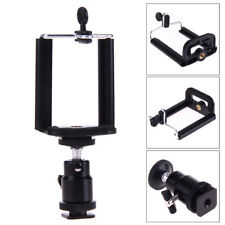 Cell Phone to DSLR Smartphone Mount Holder w/ Hot Cold Shoe Adjustable Angle