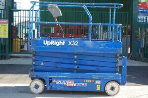 Upright X32 Scissor Lift MEWP Cherry Picker Access