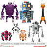 Boys Large Wall Stickers Robots Kids Bedroom Decoration Fun Easy Room Décor