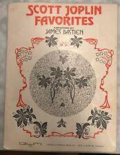 Scott Joplin Favorites by James Bastien Sheet music Book Used