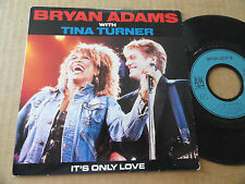 "DISQUE 45T DE BRYAN ADAMS WITH TINE TURNER  "" IT'S ONLY LOVE """