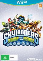 Skylanders Swap Force Wii U NINTENDO GAME - PAL AUSTRALIA