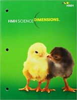 HMH Science Dimensions 1st Grade 1 Student Worktext Edition