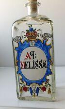 "Old Holmegaard Chemist bottle.""Melissae"".1975-99. 25 cm tall.Limited issue."