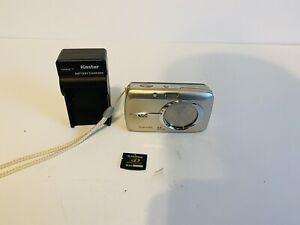 Olympus Stylus 600 Silver 6 MP W/16MB xD Card