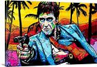 Alec Monopoly Canvas Print Scarface Art Picture Ready To Hang Extra Large Size